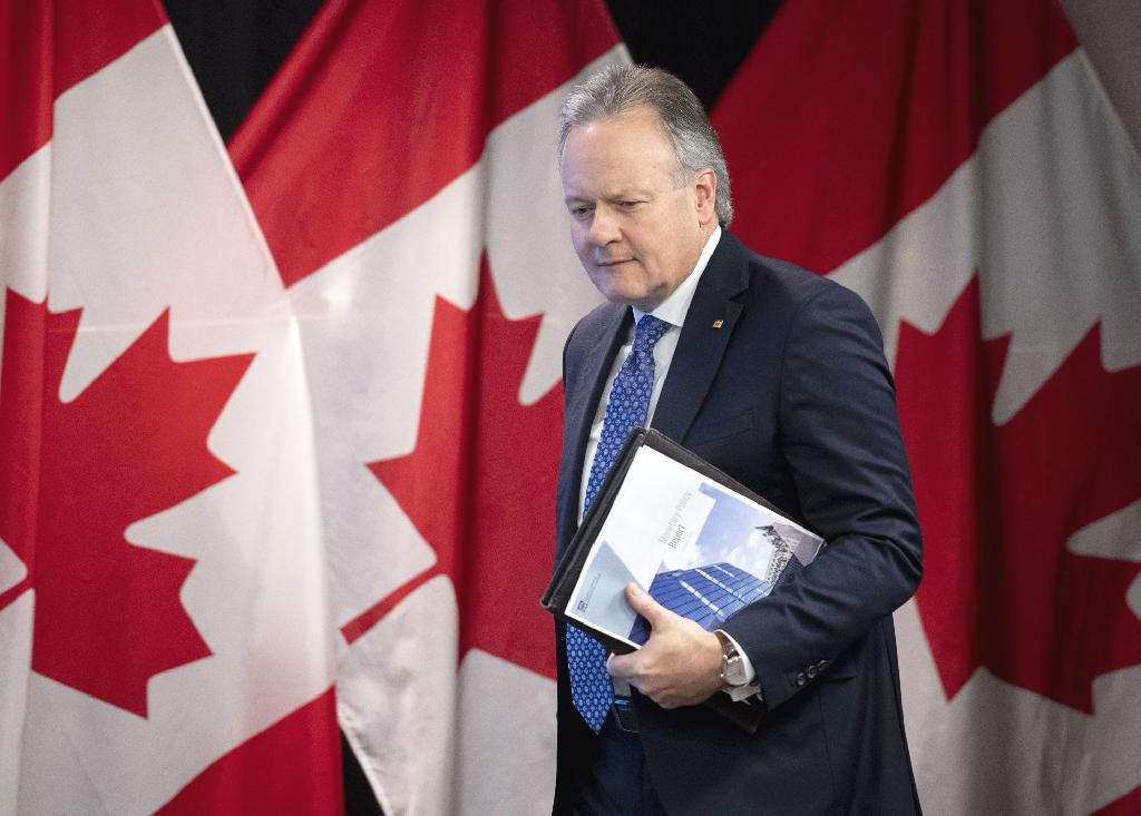 """""""What's a while, I don't know,"""" said Poloz, who spoke to reporters Saturday on the sidelines of the International Monetary Fund meetings.  The Bank of Canada, which has raised borrowing costs five times since mid-2017, has stopped talking about the need to raise interest rates in recent weeks and turned the focus instead toward keeping stimulus in place as the country copes with a slowdown."""