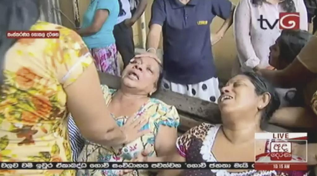 COLOMBO, Sri Lanka (AP) — The Latest on explosions in Sri Lanka on Easter Sunday (all times local):