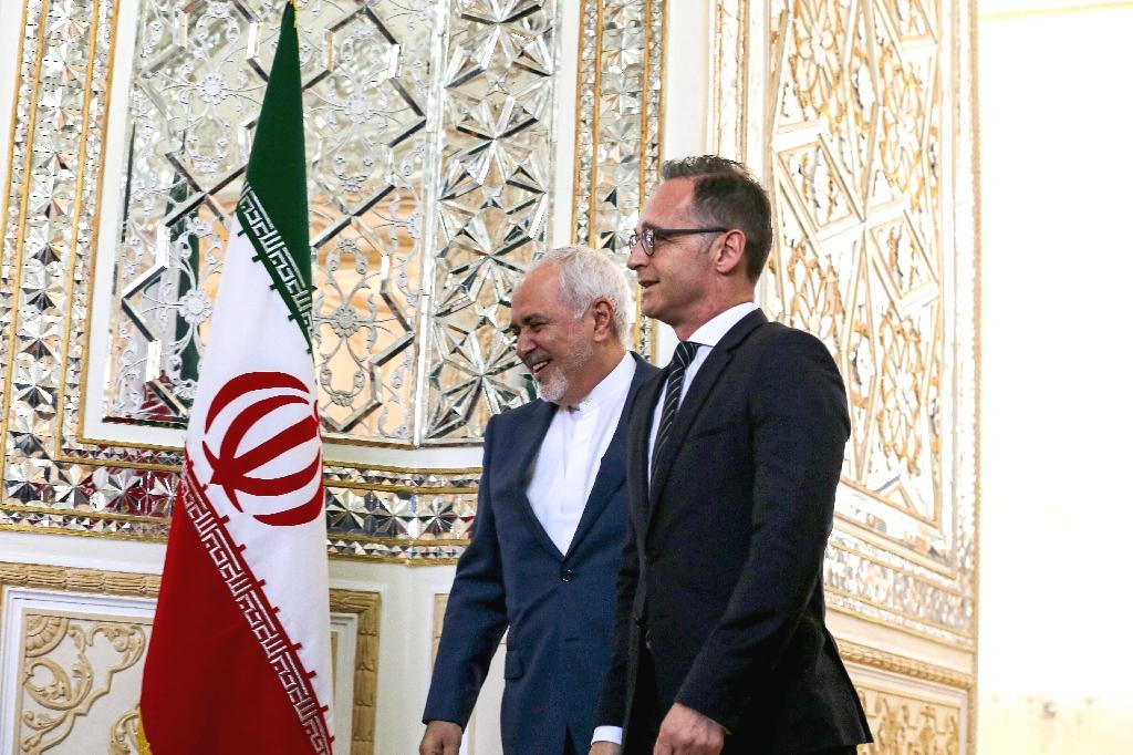 German Foreign Minister Heiko Maas held talks Monday with his Iranian counterpart Javad Zarif on the future of the 2015 nuclear deal which he described as 'extraordinarily important' for Europe.  The two shook hands in front of cameras before their closed-door meeting at the foreign ministry in Tehran, AFP reporters said.  The nuclear deal is 'extraordinarily important' for Europe's security, Maas told reporters overnight after arriving in Tehran on the last leg of a regional tour that took him to Iraq, Jordan and the United Arab Emirates.