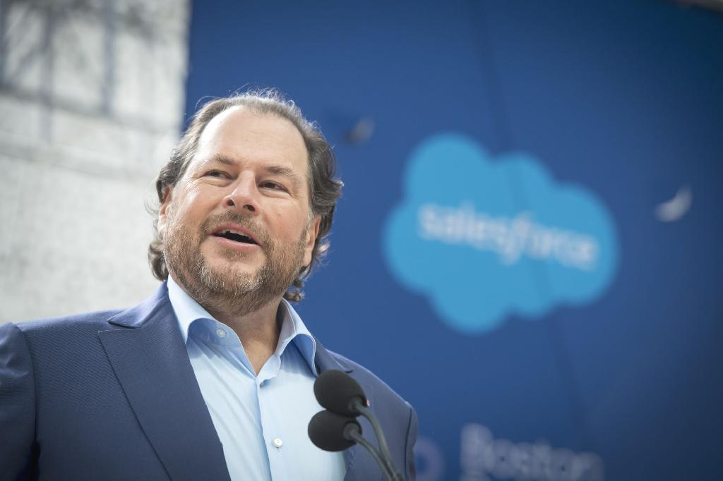 The all-stock deal, which the companies announced Monday, is Salesforce's largest transaction ever -- dwarfing its purchase last year of MuleSoft Inc. for $6.5 billion, the previous record.  Tableau will bring San Francisco-based Salesforce into the business intelligence market, far deeper into analytics than it has previously ventured.  Co-Chief Executive Officers Marc Benioff and Keith Block promised revenue of $28 billion a year by fiscal 2023.