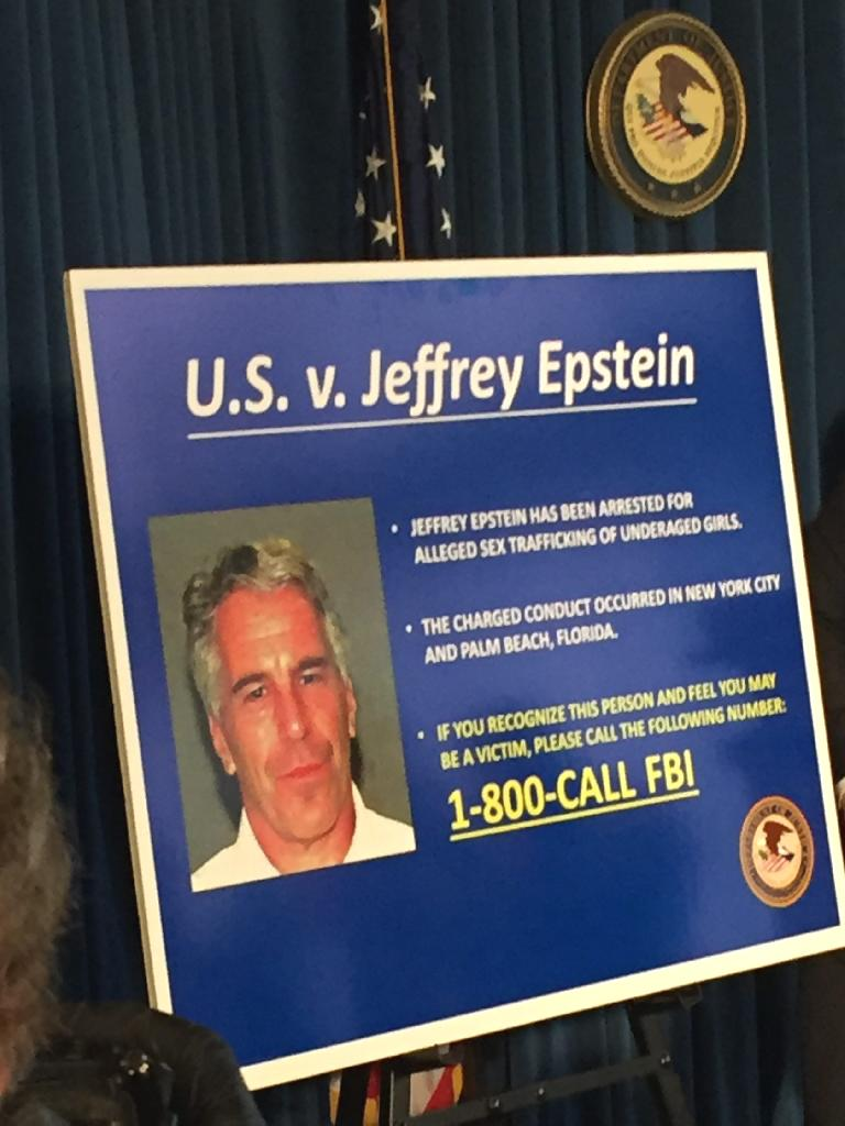 Jeffrey Epstein, a billionaire financier, was charged with sex-trafficking and related offenses in a federal indictment unsealed Monday.