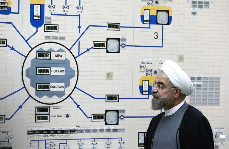 European powers urged Iran on Tuesday to reverse its move to increase uranium enrichment, as a French envoy arrived in Tehran to boost efforts to save a landmark 2015 nuclear deal.  The accord between Iran and world powers promised sanctions relief, economic benefits and an end to international isolation of the Islamic republic in return for stringent curbs on its nuclear programme.  'It must act accordingly by reversing these activities and returning to full JCPoA compliance without delay,' said a statement from the European Union and foreign ministers of France, Germany and Britain.