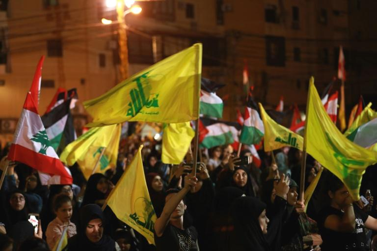 The US Treasury placed two Hezbollah members of Lebanon's parliament on its sanctions blacklist on Tuesday -- the first time Washington has taken aim at the Iran-allied group's elected politicians.  Stepping up its effort to build global pressure on the powerful Lebanese Shiite movement, the Treasury named MPs Amin Sherri and Muhammad Hasan Raad to a terror-related blacklist, saying that Hezbollah uses its parliamentary power to advance violent activities.