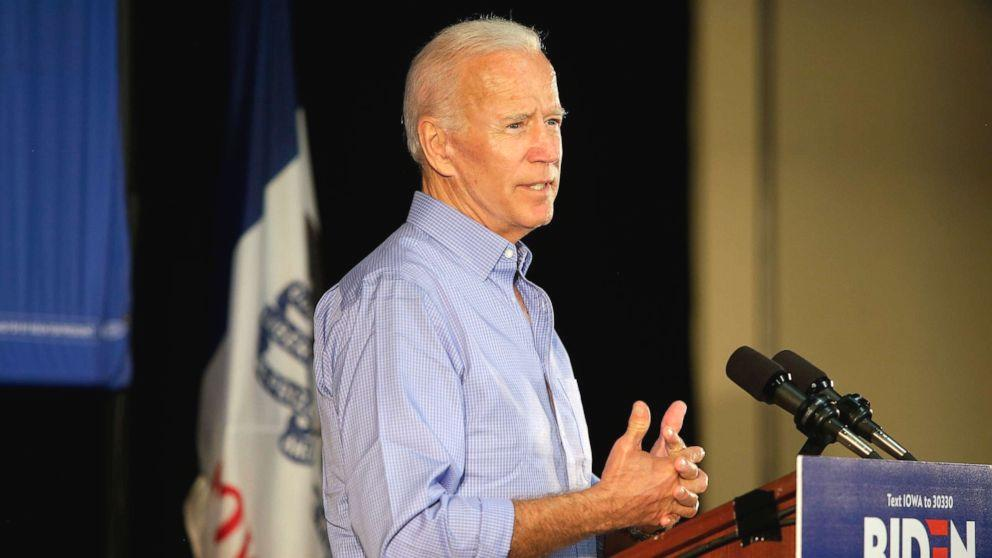 Former Vice President Joe Biden, in a speech unveiling his foreign policy plank on Thursday, drew a sharp contrast with President Donald Trump's approach to dealing with leaders, such as Russian President Vladimir Putin and North Korea's Kim Jong Un, and slamming the president for diminishing the standing of the U.S. on the world stage.  'If we give Donald Trump four more years, we'll have a great deal of difficulty if ever been able to recover America standing in the world and our capacity to bring nations together, which is desperately needed.