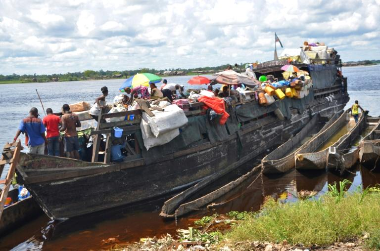 Seven people drowned after a transport boat sank after hitting rocks on a lake in the eastern Democratic Republic of Congo over the weekend, local authorities said on Monday.  Lake and river transport is widely used in the DRC as the highway system is poor, but accidents are common, often caused by overloading and the unsafe state of vessels.  The 'total number of deaths is seven,' the local minister of transport and communication in South Kivu province, Claude Swedy Basila said in a statement.