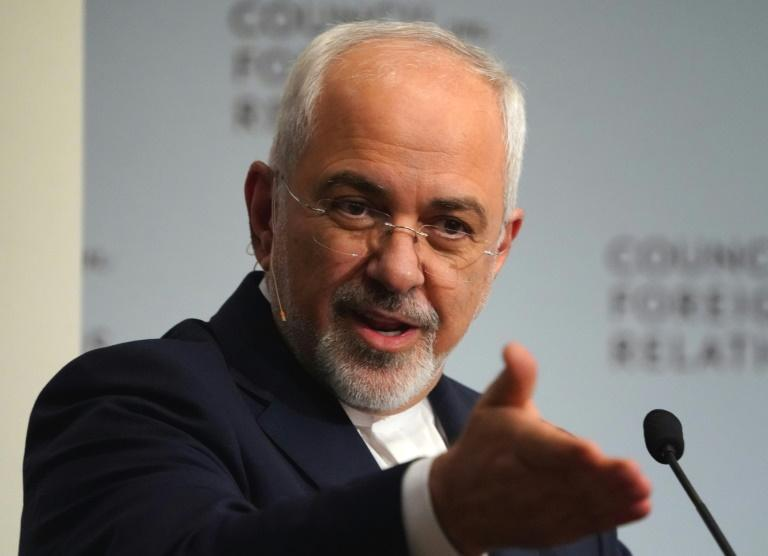 Iran's Foreign Minister Mohammad Javad Zarif accused the United States on Monday of transforming the Gulf into a 'tinderbox' with its arms sales to regional allies.  Some of the countries in the region with less than a third of our population spend $87 billion on military procurement,' Zarif told Qatar's Al Jazeera broadcaster during a visit to the Gulf state.  Washington is pursuing a 'maximum pressure' campaign designed to force Iran to limit its nuclear and military activities.