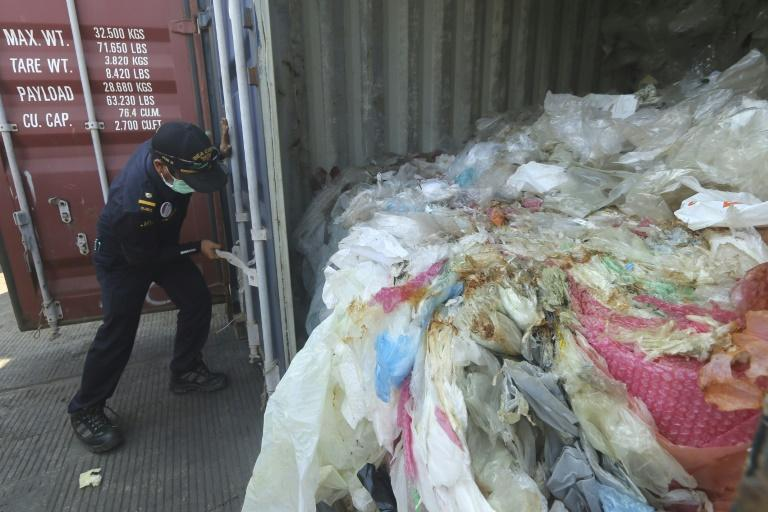 Indonesia has shipped tonnes of Australian garbage out of the country, an official said Tuesday, as Southeast Asian nations push back against serving as dumping grounds for foreign trash.  Eight containers of trash -- weighing some 210 tonnes -- left Indonesia's second-biggest city Surabaya on Monday aboard a cargo ship bound for Singapore, the local customs agency said.  The move comes less than a week after Australia pledged to stop exporting recyclable waste amid global concerns about plastic polluting the oceans and increasing pushback from Asian nations against accepting trash.