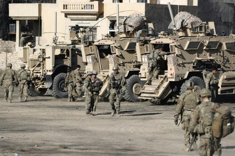 The US military said Saturday that an American service member died during an operation alongside Iraqi security personnel in Nineveh province.  'One US service member died today during an Iraqi Security Force mission in... Iraq, while advising and accompanying the ISF during a planned operation,' US Central Command said in a statement.  Iraq's government in late 2017 declared victory against IS, which seized vast swathes of the country including the key northern city of Mosul in a lightning 2014 offensive.