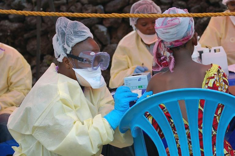 Scientists were a step closer to an effective treatment for Ebola after two drugs in a clinical trial were found to significantly boost survival rates, the US health authority co-funding the research said Monday.  The study began last November in the Democratic Republic of Congo, but its current phase has been halted and all future patients switched over to the treatments that have shown positive results, the US National Institutes of Health (NIH) said in a statement.  REGN-EB3 and mAb114 'are the first drugs that, in a scientifically sound study, have clearly shown a significant diminution in mortality for people with Ebola virus disease,' Anthony Fauci, director of the NIH's National Institute of Allergy and Infectious Diseases, told AFP.