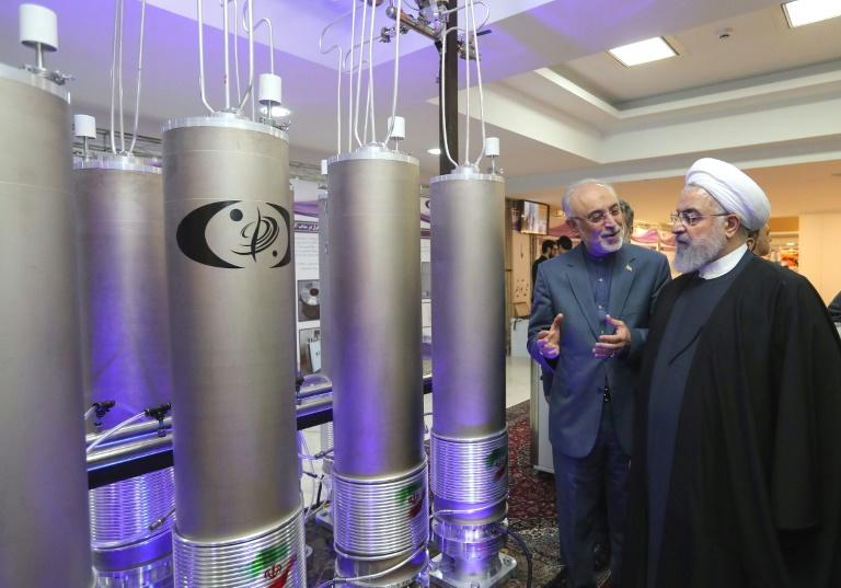 The UN's nuclear watchdog confirmed Monday that Iran was installing advanced centrifuges as the troubled 2015 deal with world powers over Tehran's nuclear programme threatens to fall apart.  The International Atomic Energy Agency (IAEA) said in a statement that on September 7 it had 'verified that the following centrifuges were either installed or being installed...: 22 IR-4, one IR-5, 30 IR-6 and three IR-6s'.  The IAEA's confirmation comes a day after Tehran hit out at European powers, saying they had left Iran little option but to scale back its commitments under the 2015 Joint Comprehensive Plan of Action (JCPOA).