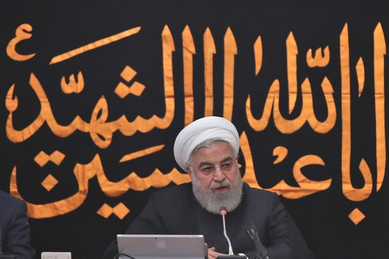 President Hassan Rouhani said on Wednesday that the United States' 'warmongering' was a failure, as Iran welcomed the sacking of hawkish US national security adviser John Bolton.  Rouhani also dismissed the prospect of meeting President Donald Trump at a time his US administration is continuing to slap more crippling sanctions on the Islamic republic.  Both... must be abandoned,' Rouhani told his cabinet.