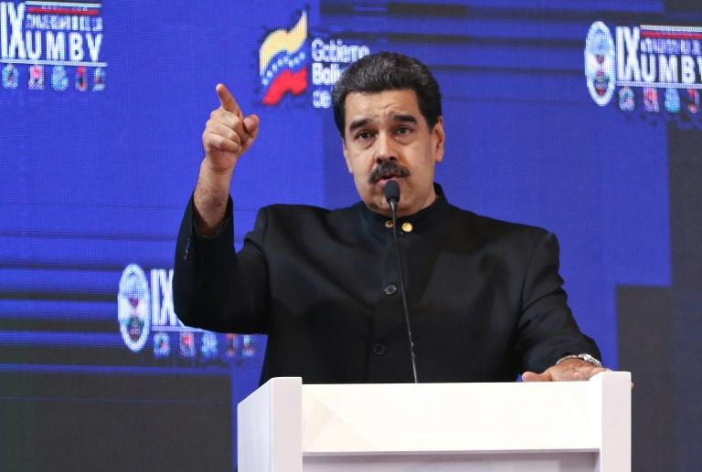 Venezuelan leader Nicolas Maduro may present a petition against US President Donald Trump at the United Nations despite opposition charges that the signatures have been gathered through threats to withhold food aid, US diplomats say.  Maduro, who remains in charge in Venezuela despite a half-year US-backed effort to remove him, has not yet announced if he will head to New York for the annual UN General Assembly later this month.  'Our diplomats have been hearing that Maduro plans to present a petition against President Trump, signed by millions of Venezuelans, at UNGA, if he actually attends,' a US official said.