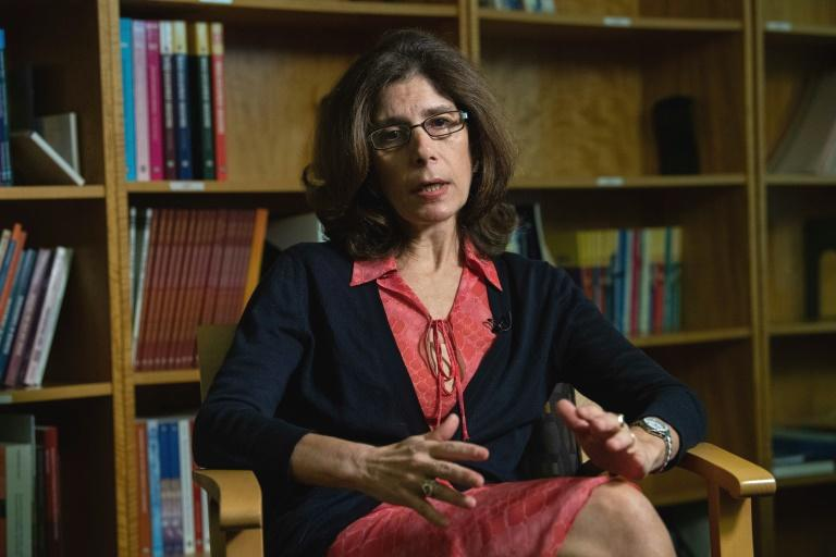 As global trade tensions persist, investments are put on hold and without that cash to boost economic growth, poverty could surge, the World Bank's chief economist warned Tuesday.  Without growth 'inevitably, people will struggle,' Pinelopi Koujianou Goldberg said in an interview with AFP.  The US-China trade war -- involving hundreds of billions of dollars in two-way trade -- is at the center of global disputes that also include Washington's friction with the European Union, changing rules over US trade with Canada and Mexico, and Brexit.