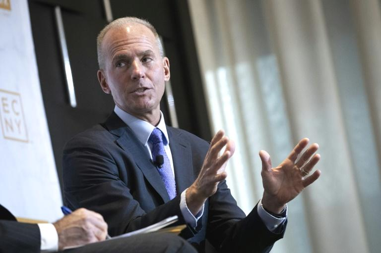 Boeing unveiled a shift to its leadership structure on Friday as it manages the 737 MAX crisis, announcing that Dennis Muilenburg will remain chief executive but step down as chairman.  The company said splitting the roles would allow Muilenburg to focus full time on running the company 'as it works to return the 737 MAX safely to service' while ensuring full support to customers sharpening Boeing's focus on safety.  'This decision is the latest of several actions by the board of directors and Boeing senior leadership to strengthen the company's governance and safety management processes,' it said in the statement.