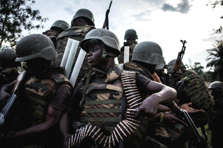 The Democratic Republic of Congo town of Oicha on Friday buried 27 victims of the latest massacre in the country's volatile east, with hundreds paying homage while lashing out at security forces for failing to stop attacks.  The vast majority of the killings have been carried out by the Allied Democratic Forces (ADF), a militia that has plagued the Democratic Republic of Congo's east since the 1990s.