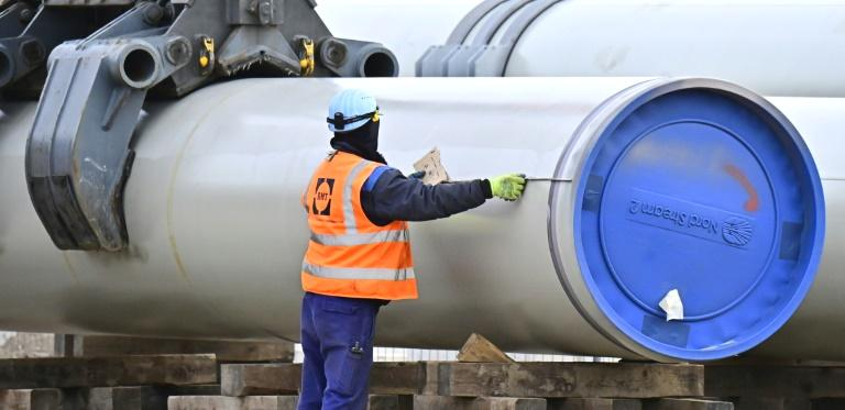 Russia and China on Monday launched a giant gas pipeline linking the countries for the first time, one of three major projects aimed at cementing Moscow's role as the world's top gas exporter.  Presiding by video link-up over an elaborate televised ceremony, Russian leader Vladimir Putin and Chinese counterpart Xi Jinping hailed the 'Power of Siberia' pipeline as a symbol of cooperation.  'Today is remarkable, a truly historic event not only for the global energy market, but first of all for us and for you, for Russia and China,' Putin said.