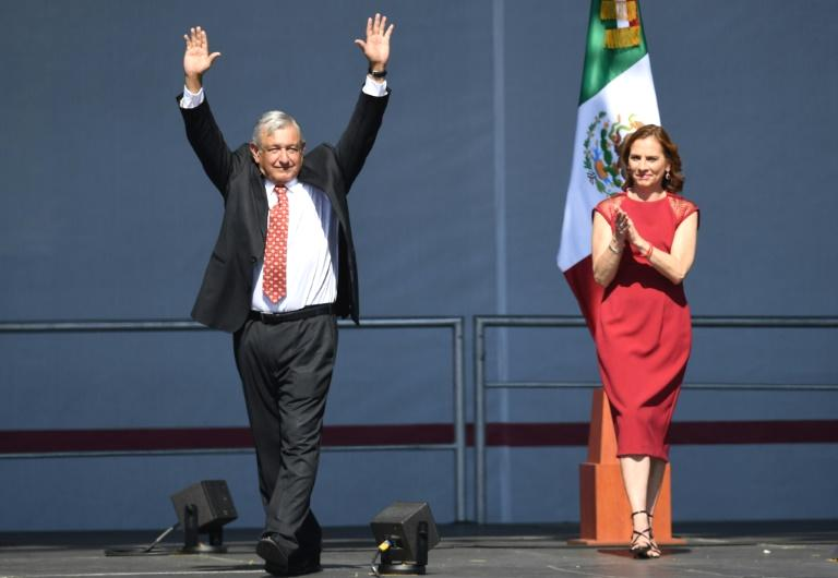 The leftist president, nicknamed AMLO, celebrated his first year in office with a speech to throngs of supporters in Mexico City.  While detailing the ongoing fight against corruption and budget and tax policies, Lopez Obrador touched on Mexico's foreign policy by recalling his government's decision to accept Morales as an asylum seeker while discussing Mexico's foreign policy.
