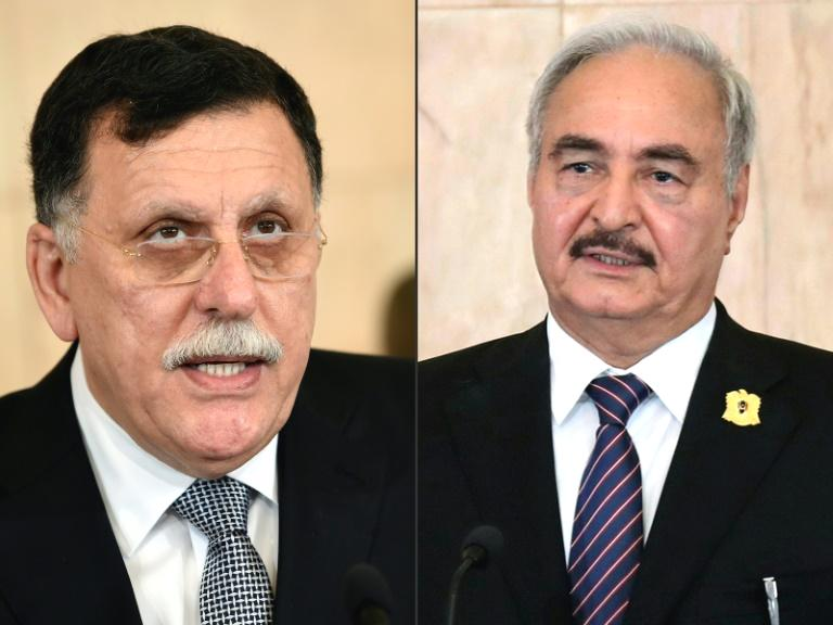 Libya's eastern strongman General Khalifa Haftar delayed signing a ceasefire agreement at talks in Moscow, but Russia said it was hopeful the country's warring rivals would soon conclude the deal to end nine months of fighting.  Talks on the terms of a ceasefire between Haftar's forces and the UN-recognised government headed by Fayez al-Sarraj went on for seven hours on Monday without the two delegations actually meeting, though Moscow noted 'certain progress'.  Sarraj's Government of National Accord (GNA) in Tripoli has been under attack since last April from forces loyal to Haftar, who is based in the east of the oil-rich North African country with his loyalist politicians.