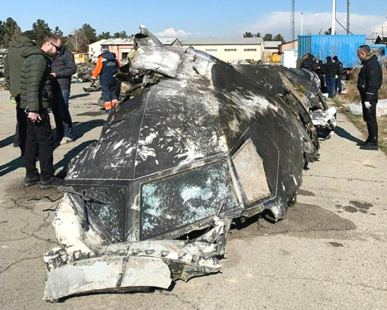 Iran denied a 'cover-up' Monday after taking days to reveal an airliner was accidentally shot down last week, a disaster that sparked demonstrations and calls for a fully transparent investigation.  The Ukraine International Airlines Boeing 737 was shot down by a missile shortly after taking off from Tehran before dawn on Wednesday, killing all 176 passengers and crew on board.  The Kiev-bound airliner was knocked out of the sky hours after Tehran had launched a wave of missiles at Iraqi bases where US troops are stationed in retaliation for the killing of a top Iranian general.