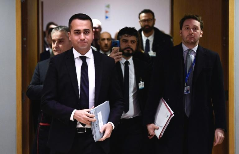 The head of Italy's anti-establishment Five Star Movement (M5S), which co-governs the country, stepped down as party leader Wednesday in a move that could trigger political shockwaves.  M5S is the largest party in Prime Minister Giuseppe Conte's coalition government, and Luigi Di Maio's exit could further weaken an already fragile alliance with the centre-left Democratic Party (PD).  'Today I'm here to hand in my resignation as head of the Five Star Movement,' Di Maio, 33, told a meeting of party members on Wednesday.