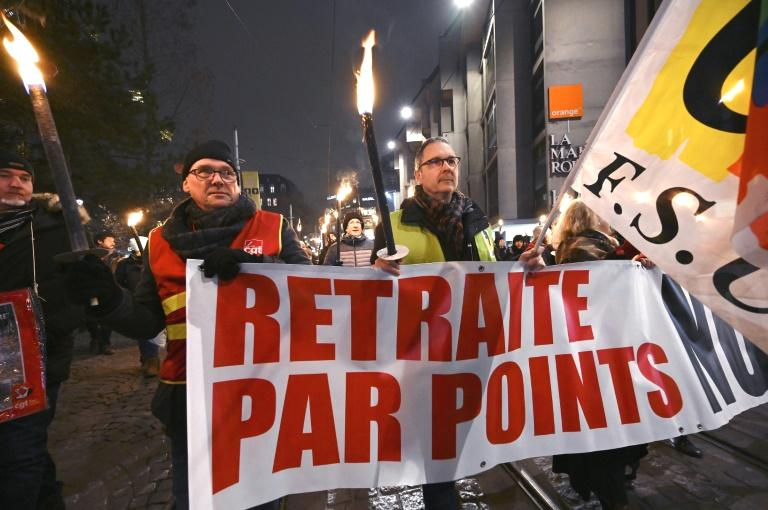 French protesters prepared to hit the streets on Friday for a fresh day of demonstrations against the  government's pension reform, which will be officially unveiled after weeks of strikes by unions warning that millions of people will have to work longer.  Union leaders themselves acknowledge it is a now-or-never moment before the draft law heads to parliament, where President Emmanuel Macron's party holds a majority and is widely expected to push through the overhaul by summer.  In Paris, protesters will march through the city to a square a stone's throw from the Elysee Palace, where ministers will meet to officially unveil the reform.