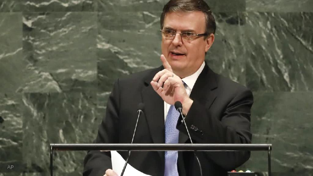 Mexican Foreign Minister Marcelo Ebrard said on Wednesday that the number of migrants awaiting the outcome of their U.S. immigration cases in Mexico has fallen from 50,000 to about 2,500.