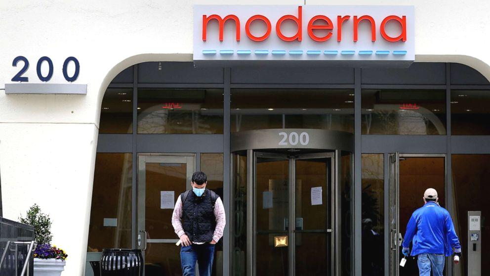 Moderna Inc., a nearly 10-year-old Massachusetts-based biotech company, is suddenly the talk of the scientific community after they announced this week 'positive' indications from their early work on a potential vaccine against the novel coronavirus.  In April, Moderna received $483 million from the Biomedical Advanced Research and Development Authority (BARDA), the government agency charged with overseeing the rapid production of a vaccine.