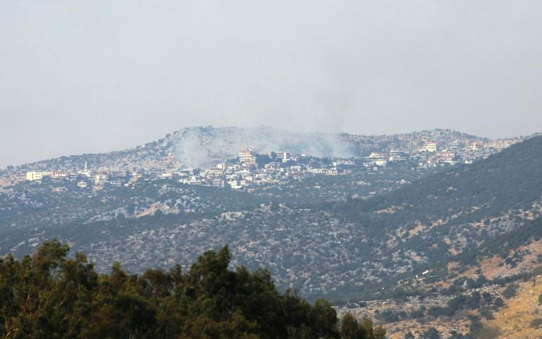 Israel said it had repelled an attempt by Hezbollah fighters to penetrate its northern border on Monday, but the Lebanese group denied any involvement in the incident.  The border clash, which Israel said included an exchange of fire between its troops and gunmen, followed days of reported heightened tensions between Hezbollah and the Jewish state.  'Today, a Hezbollah cell penetrated Israeli territory,' Israel's Prime Minister Benjamin Netanyahu said in a televised address, adding that the army succeeded in thwarting the 'attempted attack'.