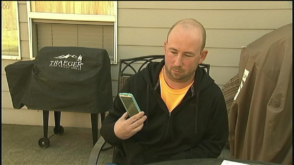 A couple in Oregon say they spent 10 months trying to clear up a whopping $2 million phone bill, which they say has prevented them from buying the home of their dreams.  Ken Slusher and his girlfriend, of Damascus, Oregon, have a balance of $2,156,593.64 on a Verizon Wireless bill that was for a wireless account that they opened in November.  'Yeah, it's been very stressful to say the least,' Slusher told KPTV.com.