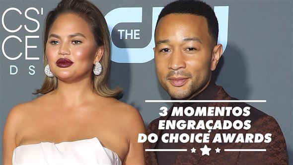 Da resposta de Lady Gaga ao ser cortada no discurso, até Chrissy Teigen de ressaca, veja os momentos mais divertidos do Critics 'Choice Awards de domingo à noite.